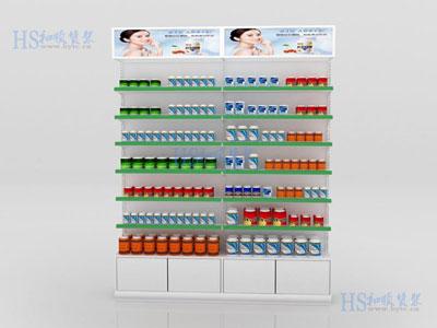 药品货架保健品该放哪些货架上