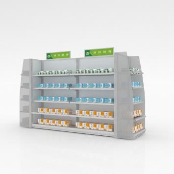 药品货架的组装流程