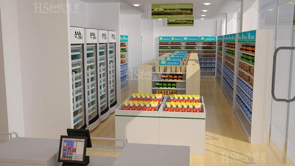 便利店货架如何融入自己的特色