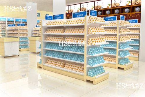 和顺货架分享怎么清理药店货架?