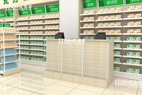 药店货架怎么打造与众不同的陈列效果
